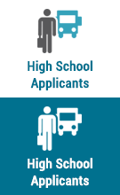 high school applicants