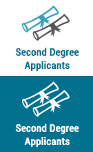 second degree applicants